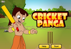 Play Chota Bheem Cricket Panga