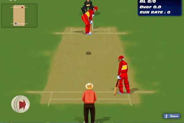 Cricketer Premier League Game, Cricket Games Play Online Free
